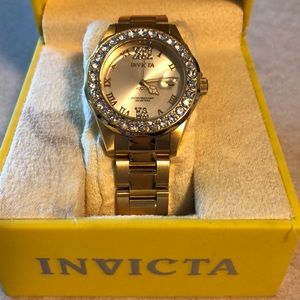 Women's Invicta Gold Watch